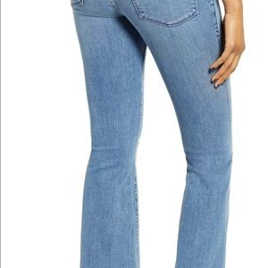 Like-new Good American Good Flare ripped jeans